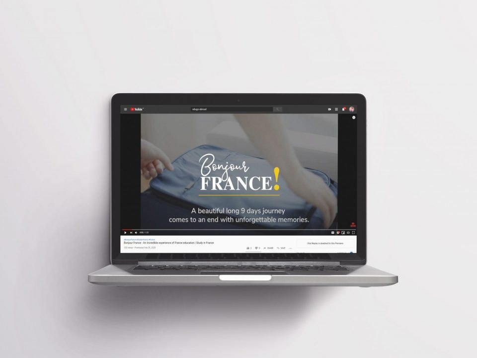 Showcased The Entire France Journey Through Interactive Video