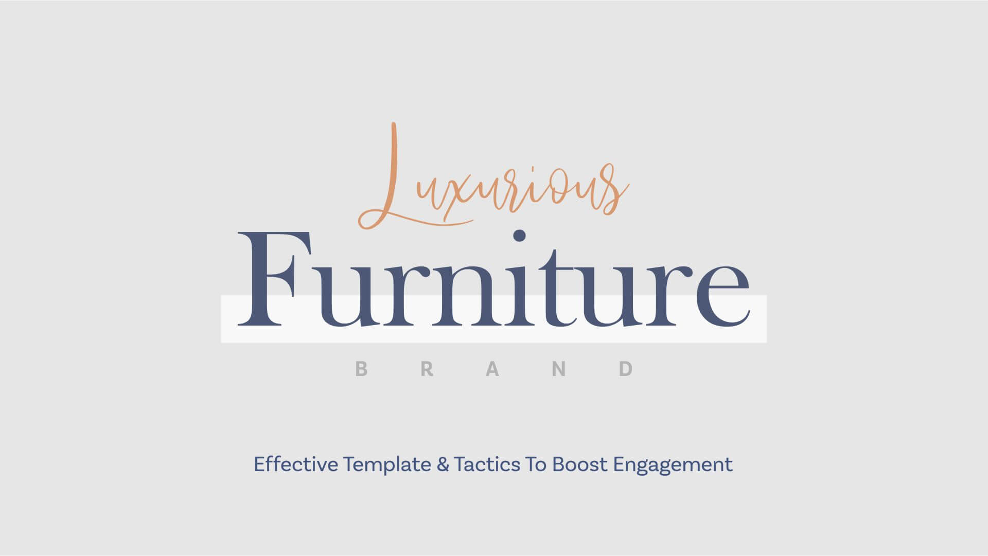 Social Media Marketing For Luxurious Furniture Brand To Win High End Customers 01