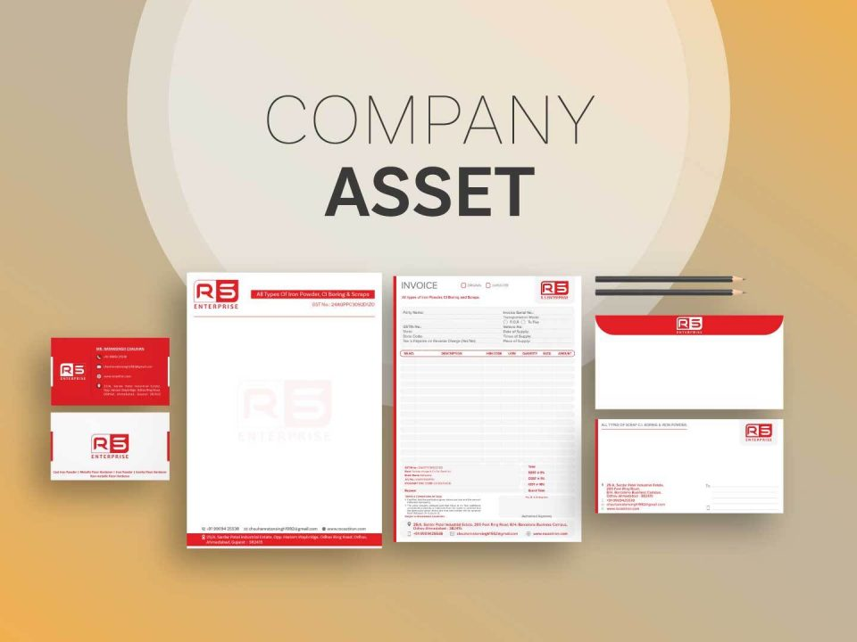 Stationery Design For Indias Leading Industrial Client